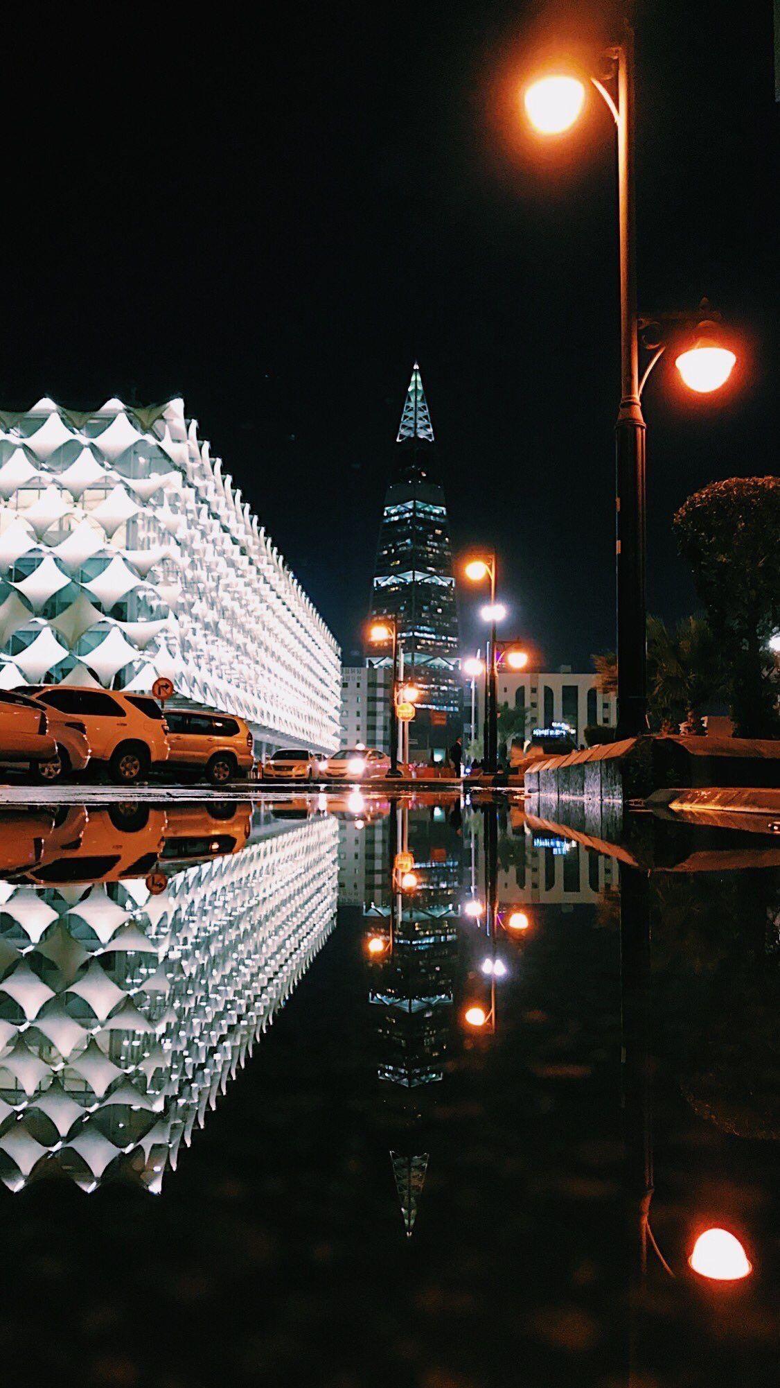 Alfaisaliah Tower Saudi Arabia Culture City Wallpaper Reflection Photography
