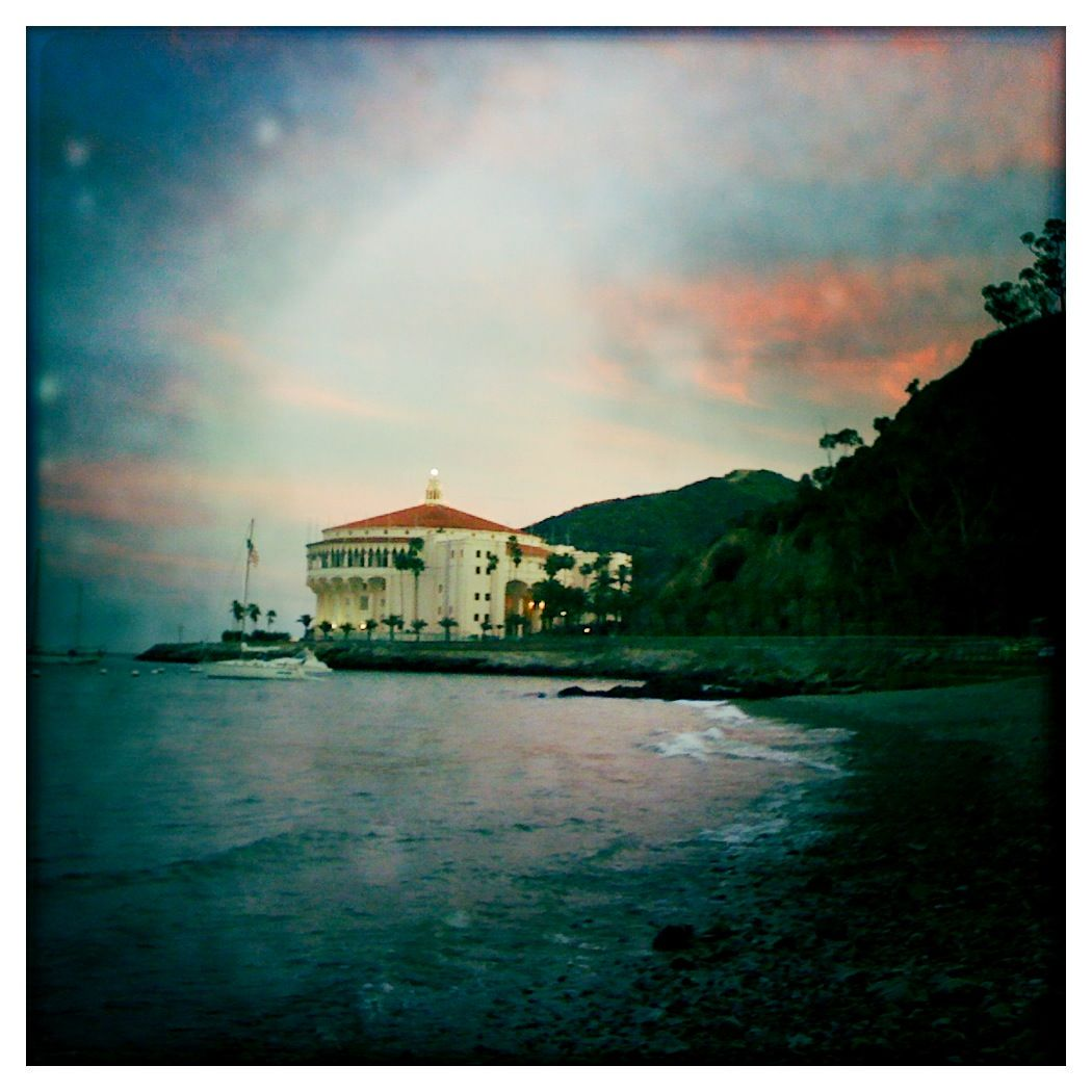 The Casino as seen from Descanso Beach.  Catalina Island, CA  2 High School Proms later...