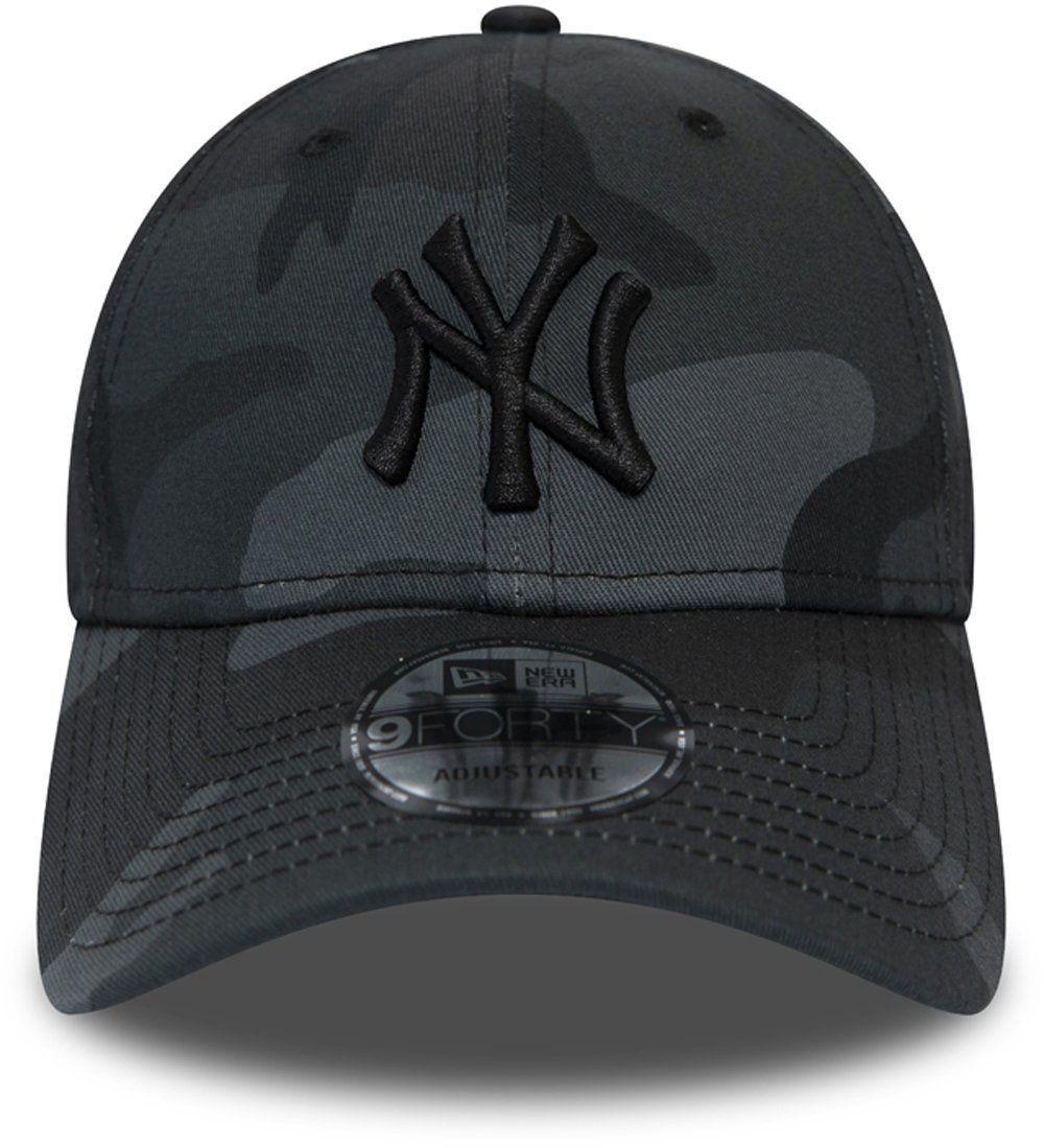Ny Yankees New Era 940 League Essential Midnight Camo Baseball Cap Ny Yankees Yankees Baseball Cap Baseball Cap