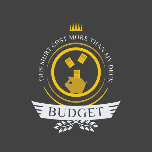 Budget Life Magic The Gathering Unisex T Shirt In 2021 Mtg Memes Magic The Gathering Cards Magic The Gathering