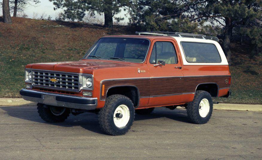 1973 1980 Chevrolet Blazer Gmc Jimmy Woodies Station Wagon