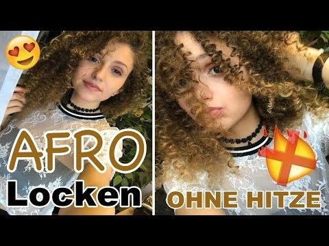 afro locken ohne hitze adriana leandra youtube. Black Bedroom Furniture Sets. Home Design Ideas