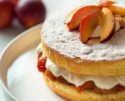 Ultimate 4 Step Sponge Cake With Yogurt Cream Desserts Corner Sponge Cake Desserts Dessert Recipes