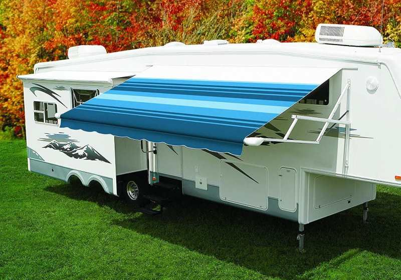 How Far Do Rv Awnings Extend Go Travel Trailers Awning Camper Awnings Awning Shade