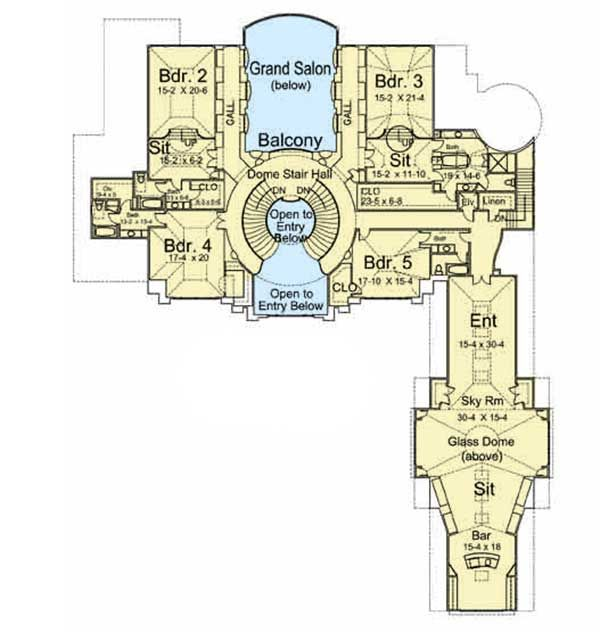 Plan 12199jl Awe Inspiring Architecture With Video Tour Luxury House Plans How To Plan Mountain House Plans