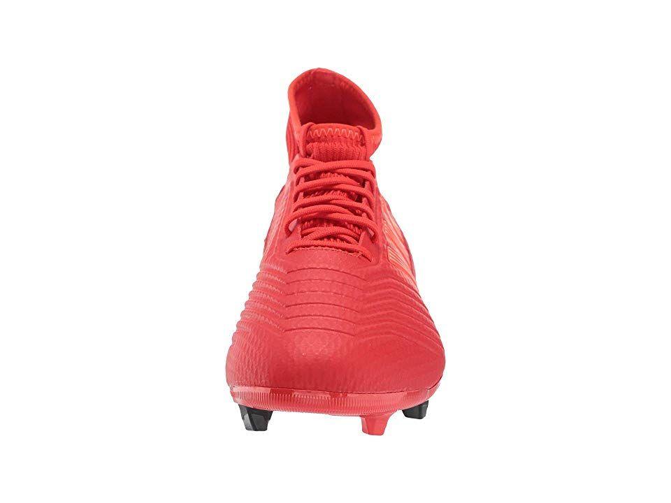 245594b62 adidas Predator 19.3 FG Men s Soccer Shoes Active Red Solar Red Core Black