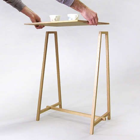 Breakdown Furniture Louis Rigano - If you're the type who likes simple furniture that can be built in no time with no mess, the 'Breakdown Furniture' by Louie Rigano i...
