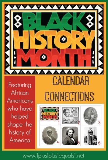 Photo of Black History ~ Calendar Connections
