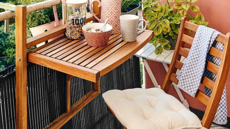 Klappbare Gartenmobel Kompakte Mobel Fur Den Balkon Otto Balkonmobel Balkonmobel Set Gartenmobel