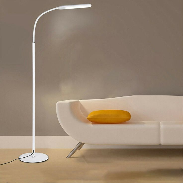 Led Floor Lamp Reading Process Bedroom Study Light Dimmable W