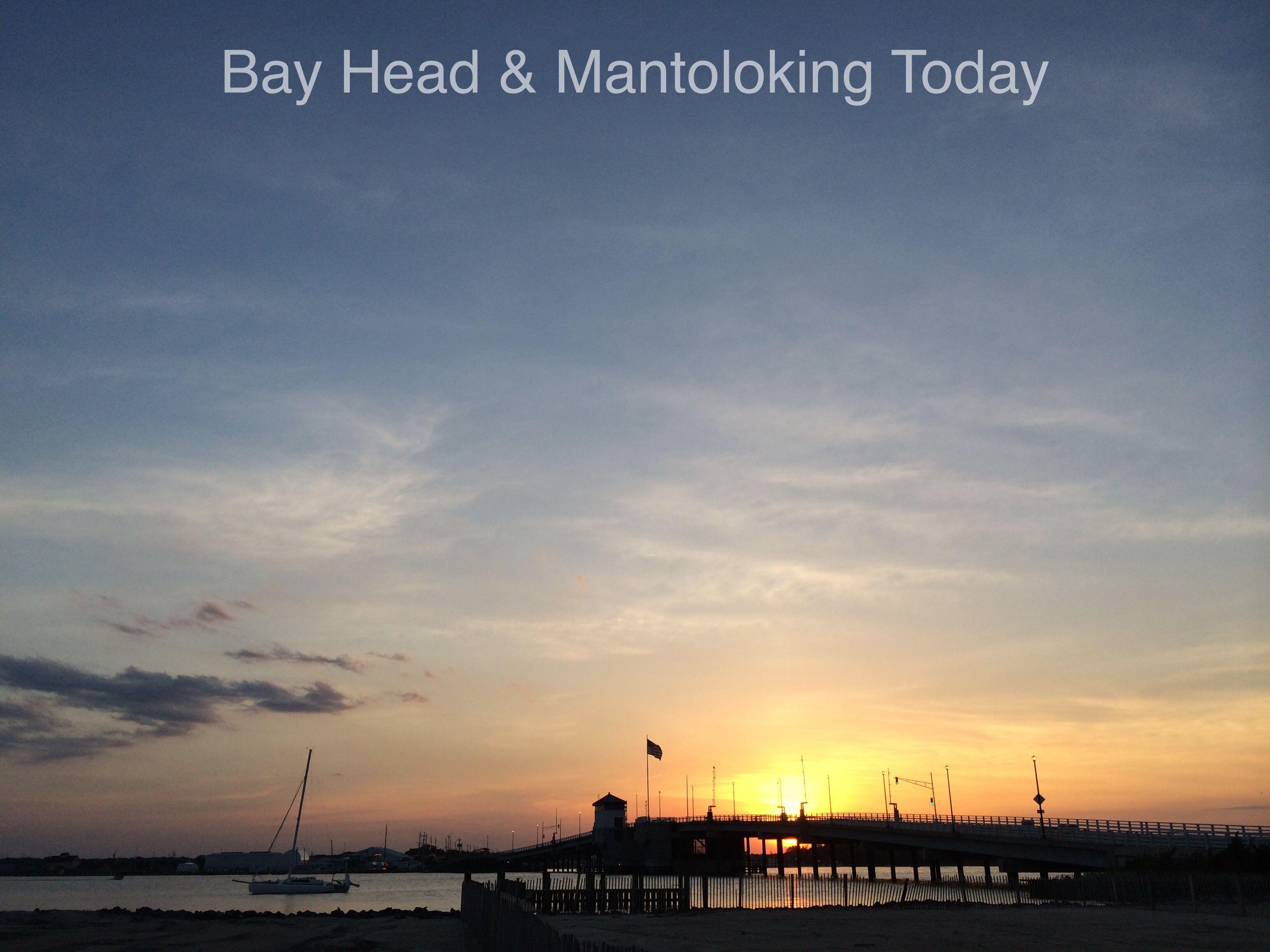 A Mantoloking sunset...