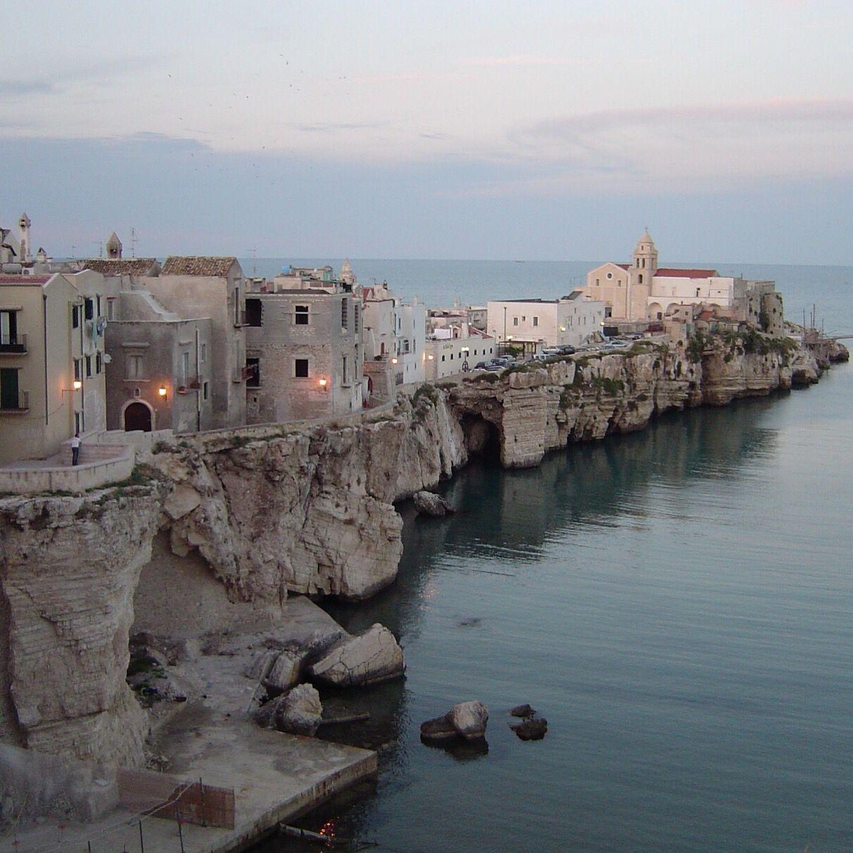 Vieste in the Costa del Gargano (Puglia). Italy. Italy