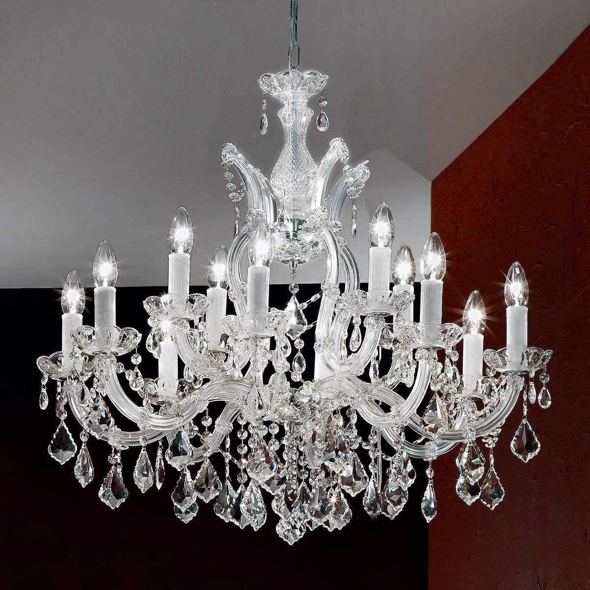 Kronleuchter Mit Lampenschirmen Moderne Kronlechter Hier: Kronleuchter Groß Weiß