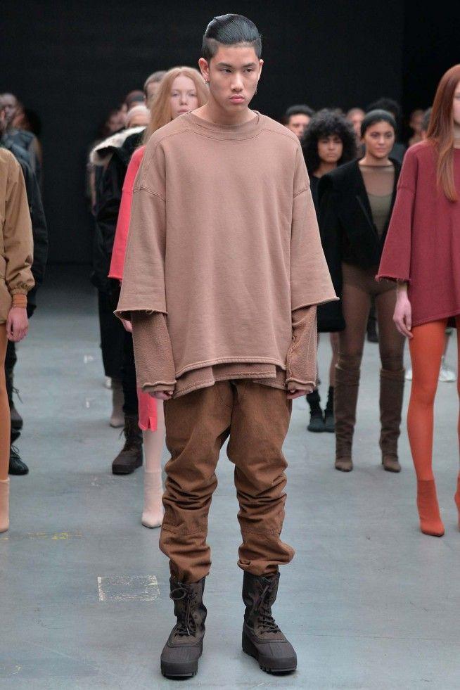 Colecao Kanye West X Adidas Originals Nova York Inverno 2016 Rtw Foto 27 Desfiles Ffw Kanye West Style Yeezy Fashion Kanye West Adidas