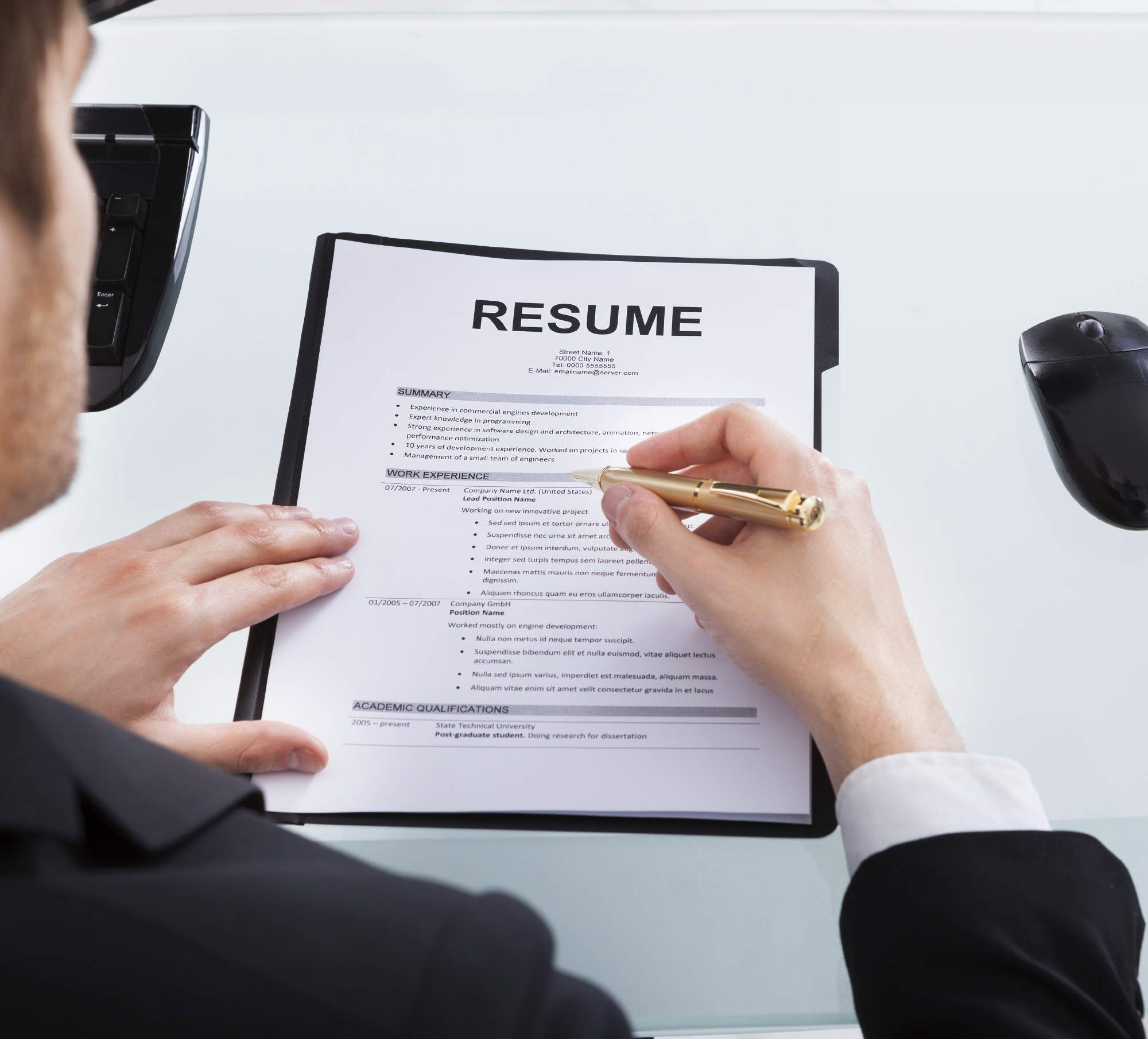 Things You're Doing Wrong On Your Resume Vlogging