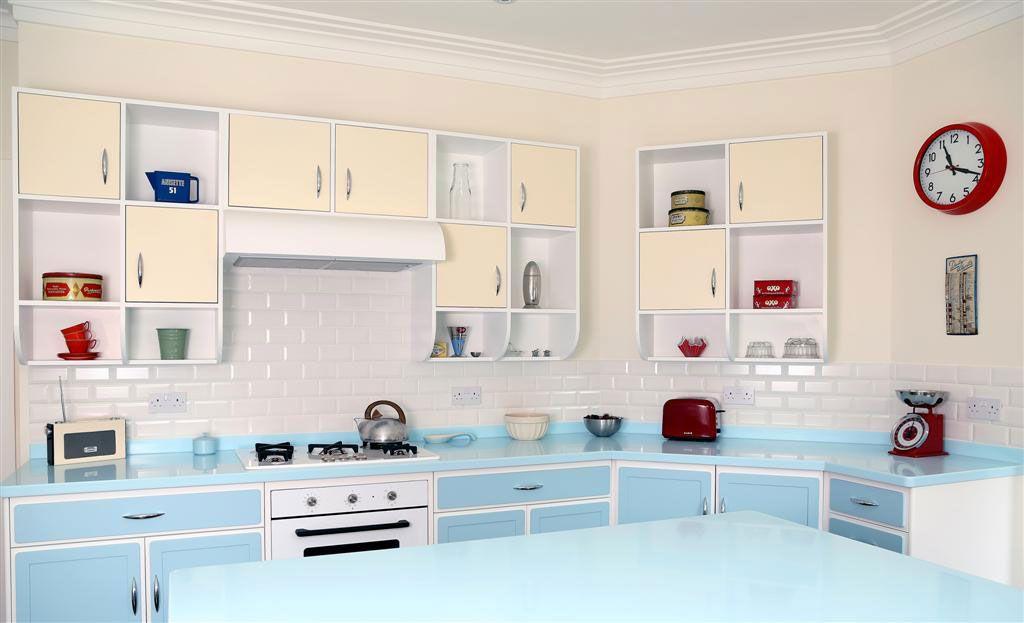 Retro Beespoke Kitchen Retro Kitchen Kitchen Remodel Bespoke