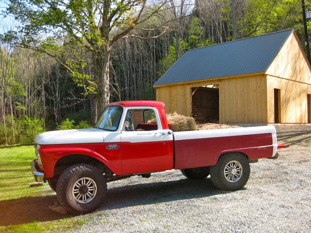 Our 1966 ford f 250 4x4