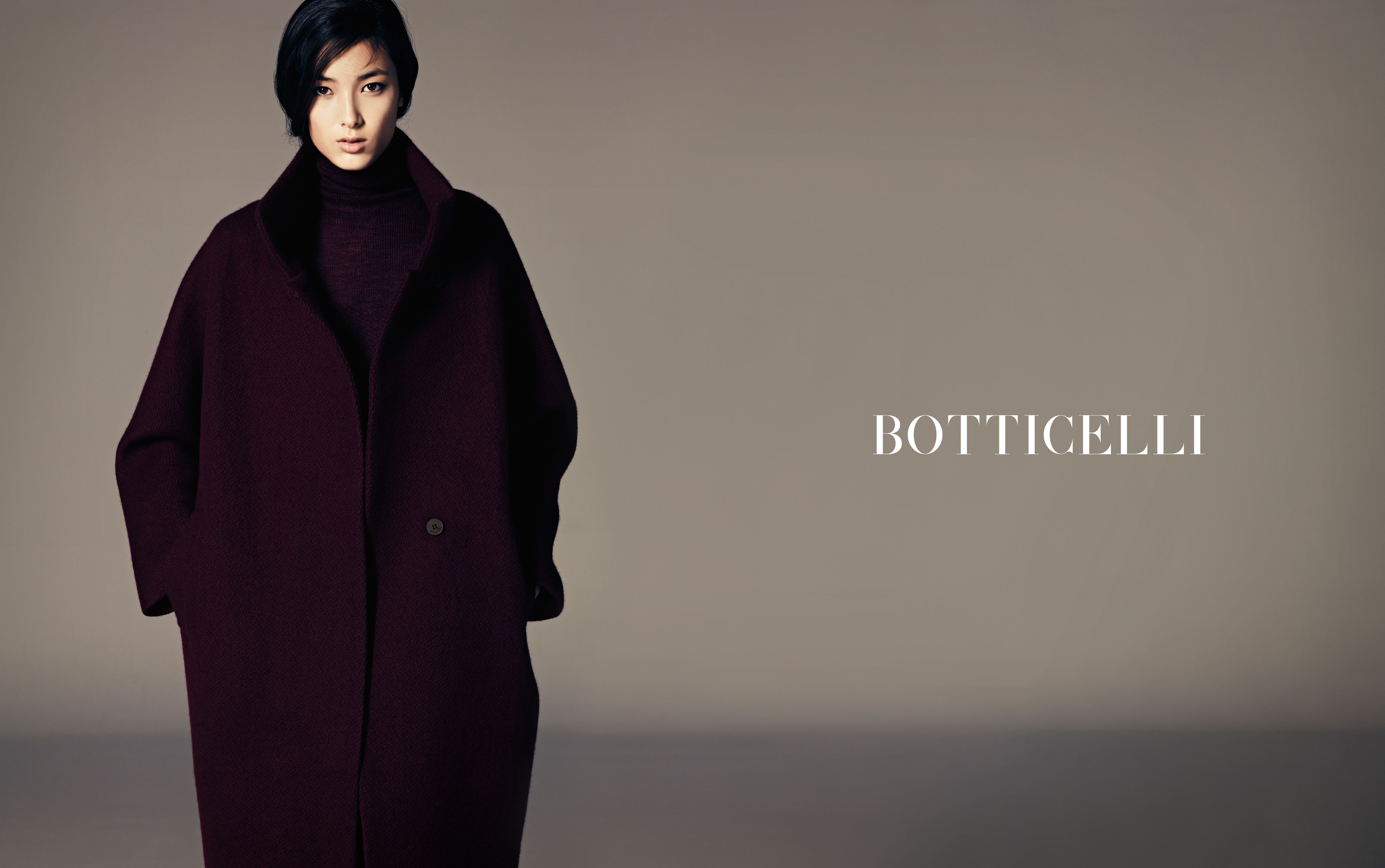 #BOTTICELLI_12FW 11 DPS  #MODEL : #TIANATOLSTOI