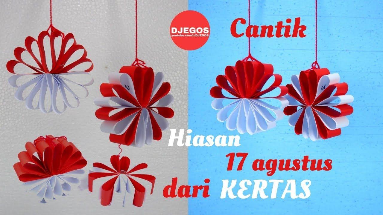 Cantik Hiasan 17 Agustus Dari Kertas Dekorasi 17 Agustus Kreatif Bunga Kertas 17 Agustus