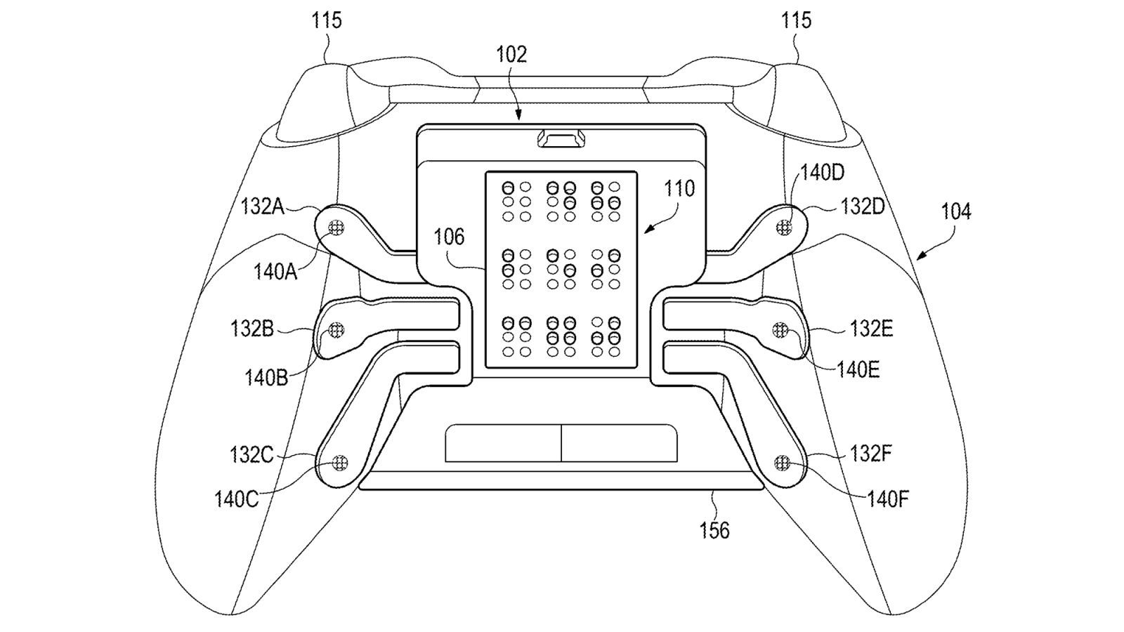 Microsoft Patent Imagines An Xbox Controller Customized