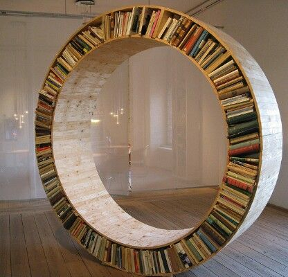 Circle Bookcase Stray Away From The Norm Rectangular