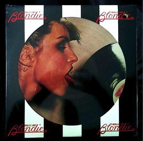 Blondie Parallel Lines Vinyl Lp Album Picture Disc At Discogs Album Breton Stripes Vinyl