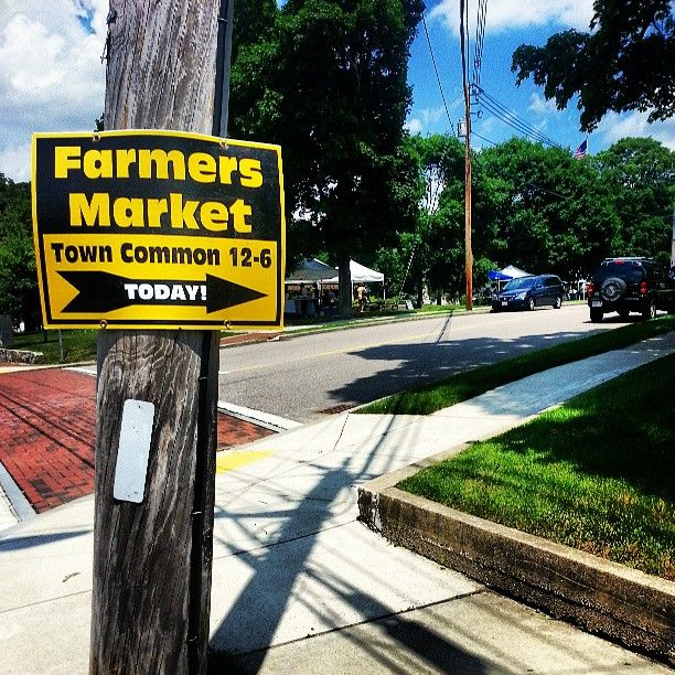 There's a Farmers Market at the Franklin Town Common every Friday from noon till 6pm! #FranklinMA #Massachusetts