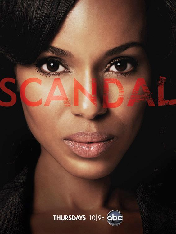 Olivia Pope (played by Kerry Washington)! I'm incredibly in love with this high-octane political drama called Scandal.