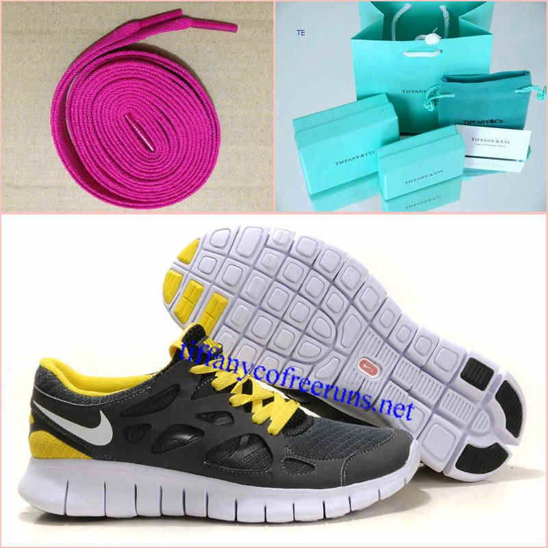 new arrival 7babc ce20c Womens Tiffany CO Earrings Rose Lace Nike Free Run 2 Gray Yellow Shoes