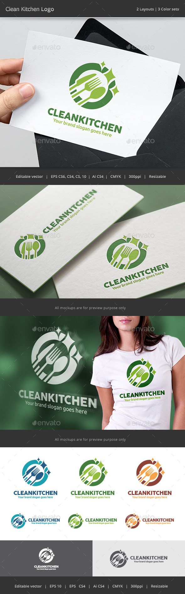clean kitchen logo kitchen logo logo design template and clean kitchen logo design template vector logotype download it here http