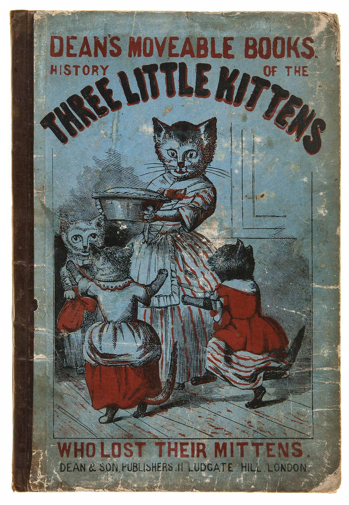 Follen Eliza Lee Cabot The Three Little Kittens Little Kittens Cat Books Kittens