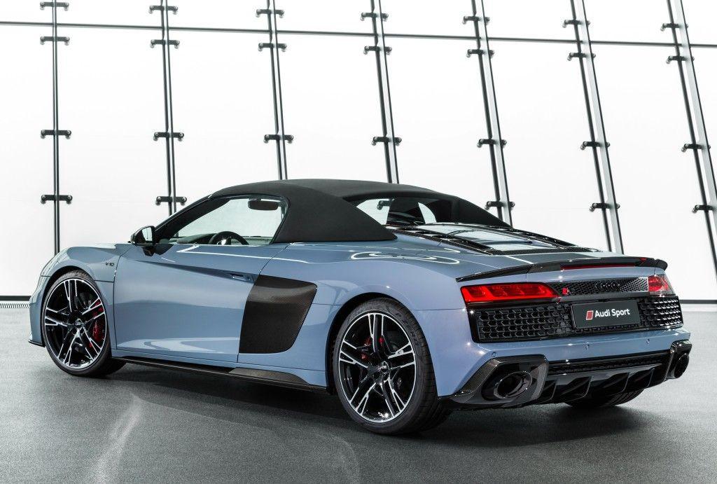 Audi R8 Spyder Specs Photos 2018 2019 Autoevolution Audi R8 Spyder Audi R8 Audi Cars