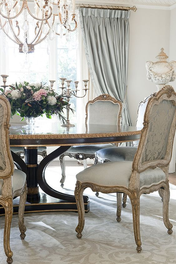 Vintage French Country Decor Dining Room Ideas