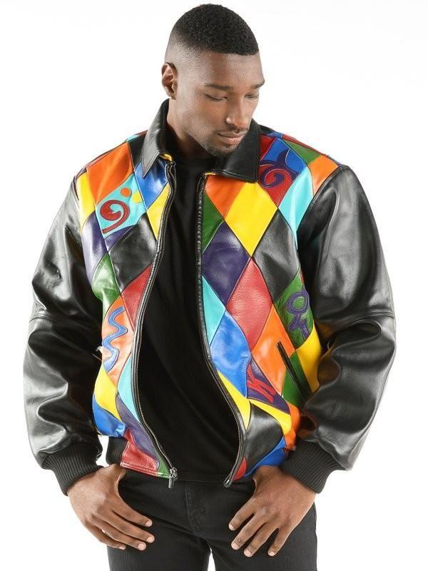 a598e2a82 Pelle Pelle Diamonds Black Plush in 2019 | hip hop leathas | Black ...