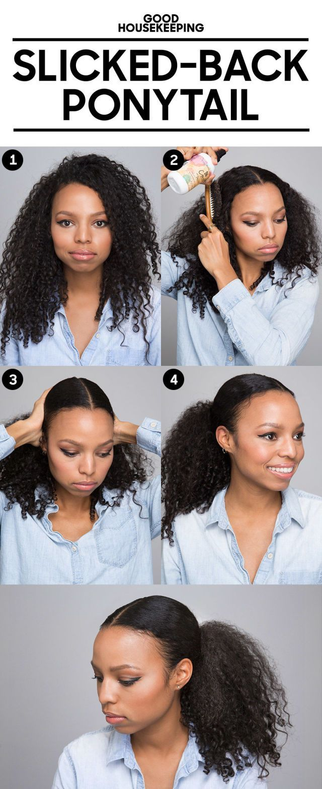 The Pineapple Hair Trick Will Give You Defined Curls Overnight Curly Hair Styles Naturally Curly Hair Ponytail Curly Hair Styles