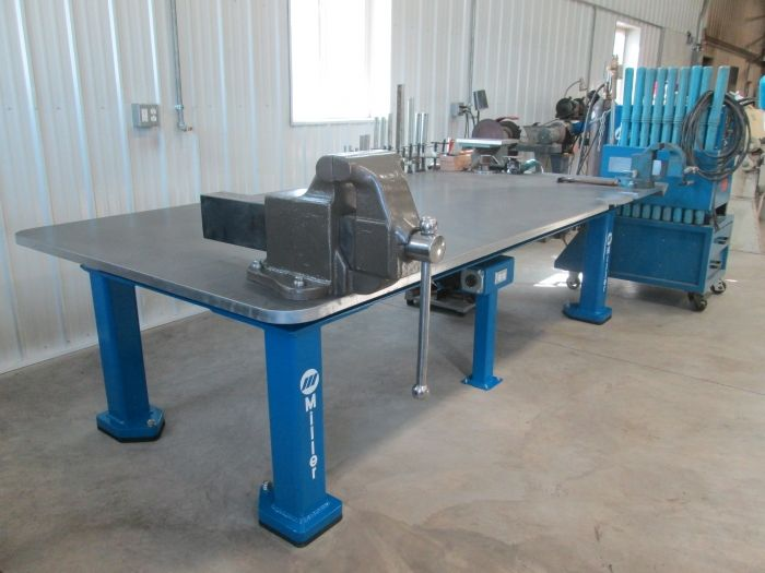 Miller - Welding Projects - Idea Gallery - Welding Table | Metal ...