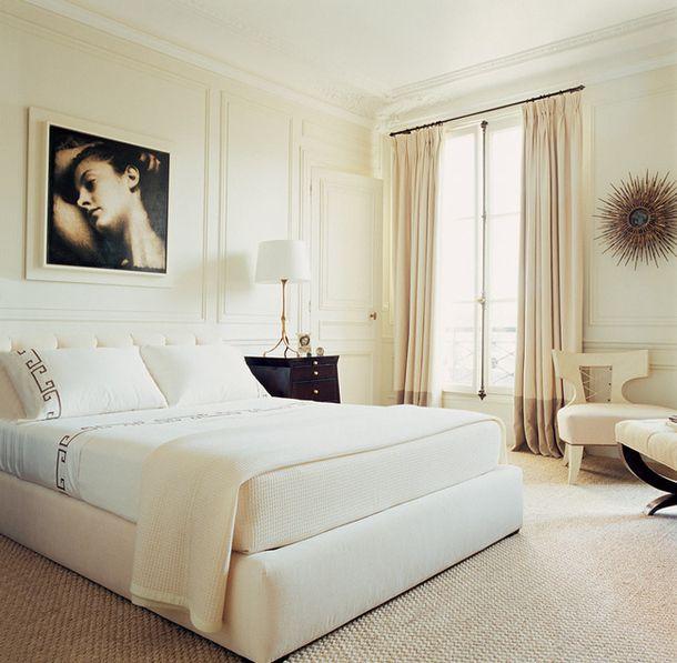 Cool Room Designs All White: Как оформить спальню: 14 идей