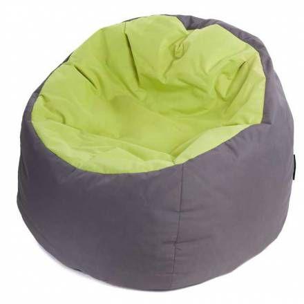 Pouf Poire Bowly Tout Confort Gris Et Vert Anis Achat Sur Pouf Design Pouf Poire Pouf Geant Pouf Poire Enfants