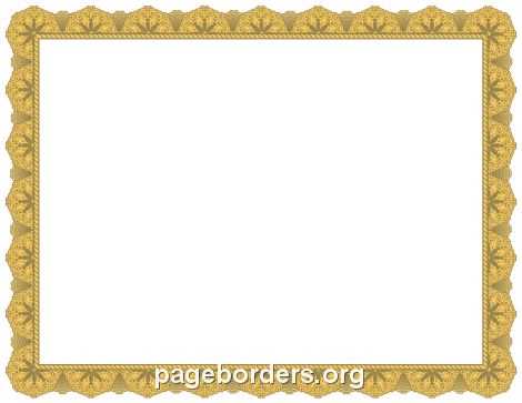 An Alien-Themed Page Border. Free Downloads At Http://Pageborders