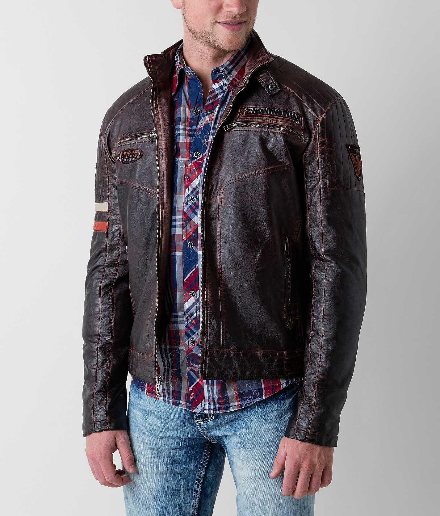 Affliction Black Premium Recklessness Jacket Trendy mens