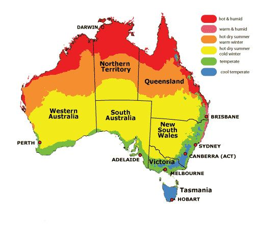 The Lowest Temperatures Reached In Australia However Are Not