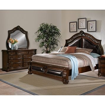 Morocco Bedroom 5 Pc King Bedroom Furniture Com 1 699 99