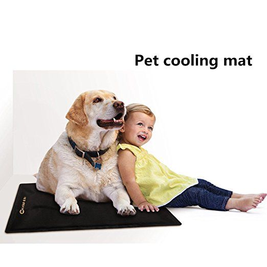 Pet Cooling Mat For Dog Or Laptop Cooling Also Reusable Ice Pack For Back Shoulder Knee 21 3 Quot X 13 8 Quot Pet Cooling Mat Pets