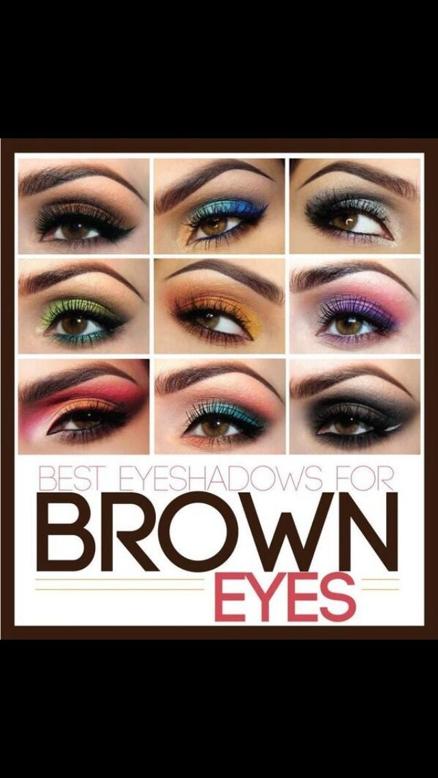 Eyeshadow Colors To Wear If You Have Brown Eyes #Beauty #Trusper #Tip