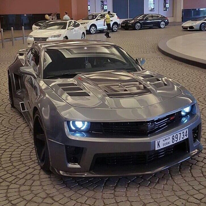 Custom Machine gray Camaro ZL1