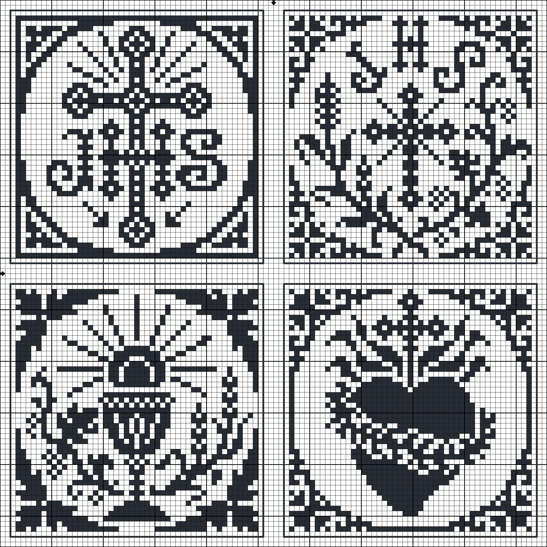 Sagrado Corazón, Cáliz, cruz | crochet religioso | Pinterest | Punto ...