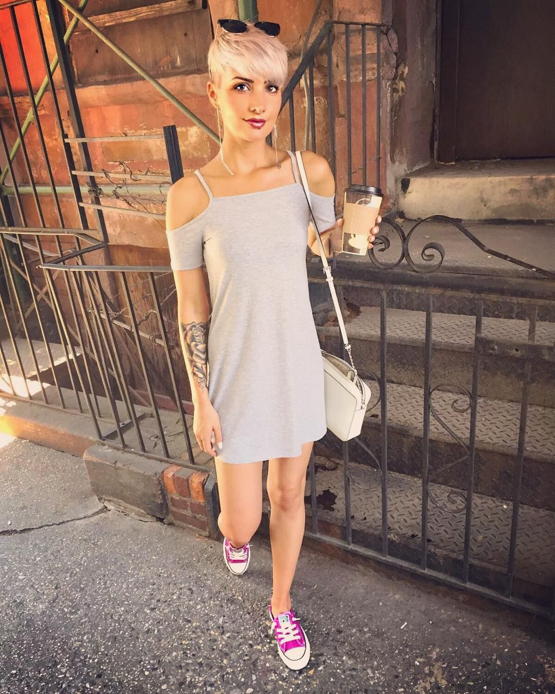 Pin by p kay mm on my style pinterest dress summer converse