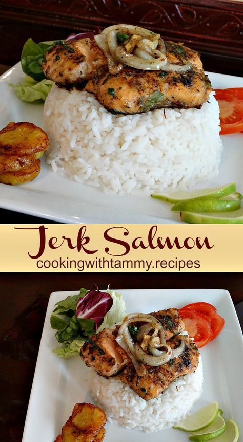 Jerk Salmon Recipe - Cooking With Tammy .Recipes
