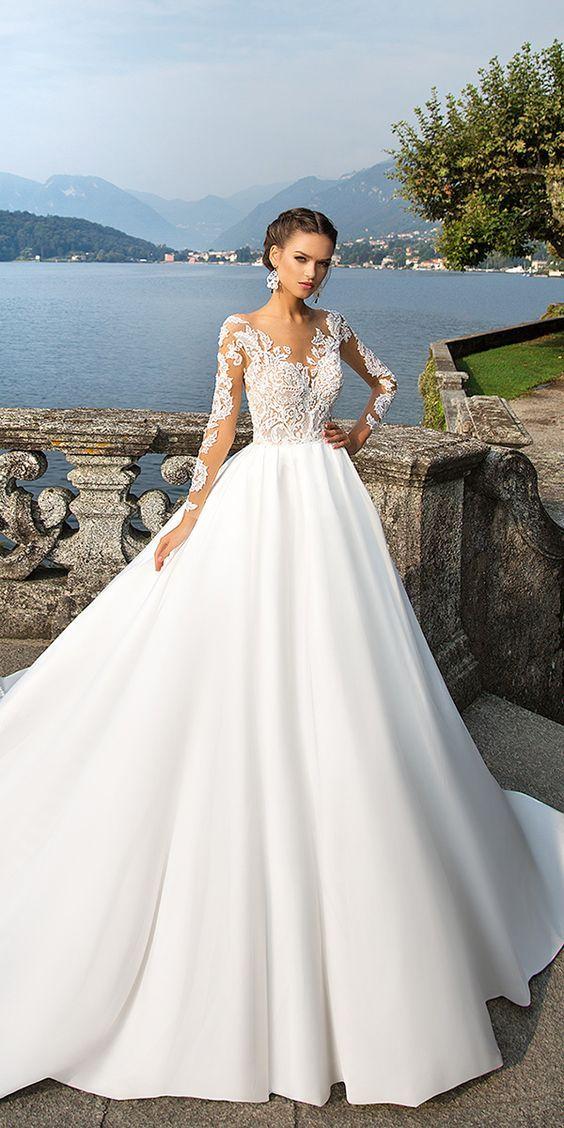 24 Milla Nova Wedding Dresses Collection 2017 ❤ See more: http://www.weddingforward.com/milla-nova-wedding-dresses-2017/ #wedding #dresses #2017 #millanova