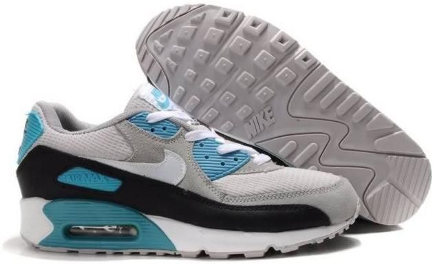 innovative design edab9 cae9d Ken Griffey Shoes Nike Air Max 90 Grey Teal Black White  Nike Air Max 90 - Lightweight  Nike Air Max 90 Grey Teal Black White kicks are professional ...